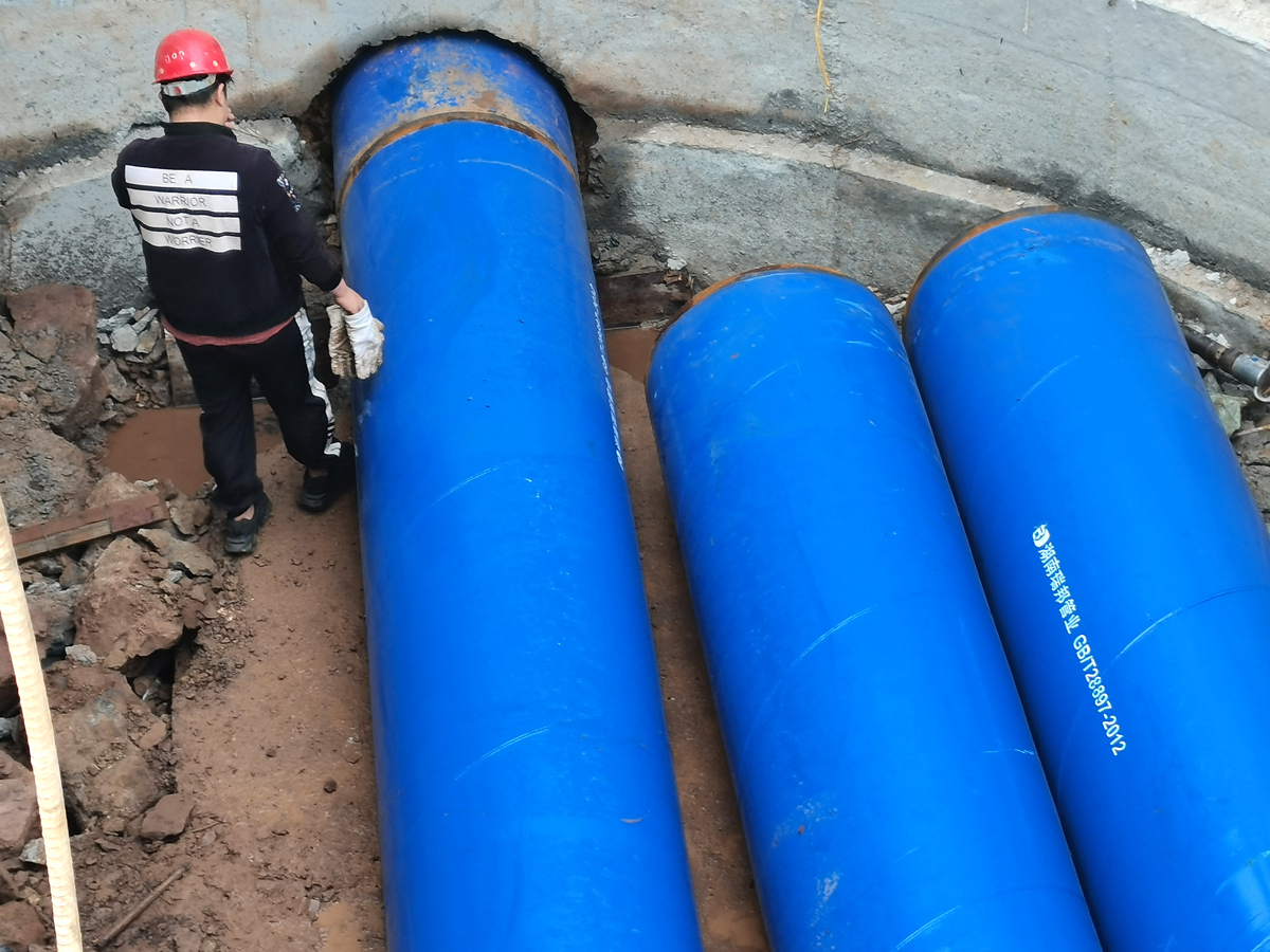 衡阳水务集团顶管工程项目