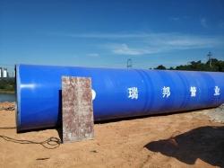 大口径涂塑钢管项目应用